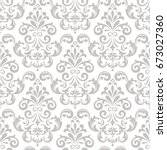 wallpaper in the style of... | Shutterstock .eps vector #673027360