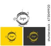 logo nest | Shutterstock .eps vector #673049920