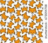 pattern for seamless background ...   Shutterstock .eps vector #673054708