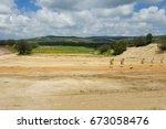 outdoor shooting range  idf... | Shutterstock . vector #673058476