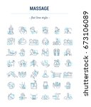 vector graphic set.isolated... | Shutterstock .eps vector #673106089