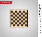 Isolated Checkerboard Flat Ico...