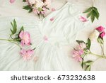 glamor elegant evening party... | Shutterstock . vector #673232638