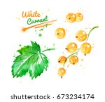 watercolor illustration of... | Shutterstock . vector #673234174