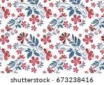 flower texture | Shutterstock . vector #673238416
