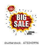big sale and special offer  end ...   Shutterstock .eps vector #673243996