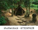 Dwarfs Fairy Houses In The...