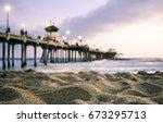 Huntington Beach Pier  Beach...