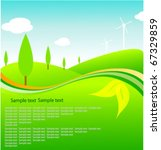 eco template | Shutterstock .eps vector #67329859