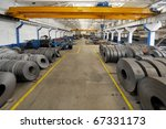 industrial warehouse | Shutterstock . vector #67331173