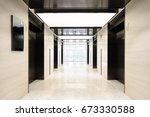 design and decoration in modern  | Shutterstock . vector #673330588