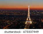 paris  france   june 25  2017 ... | Shutterstock . vector #673337449
