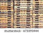 Detail Shot Of Wooden Pallets...