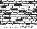 distressed overlay texture of... | Shutterstock .eps vector #673409638