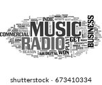 why radio won t play indie... | Shutterstock .eps vector #673410334