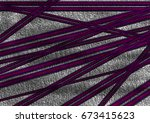 abstract backdrop in purple and ... | Shutterstock . vector #673415623