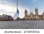 mexico  mexico city  8 february ... | Shutterstock . vector #673445416