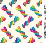 vector seamless pattern of... | Shutterstock .eps vector #673508194