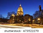 springfield  illinois   state... | Shutterstock . vector #673522270