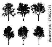 vector illustration of tree... | Shutterstock .eps vector #673523296