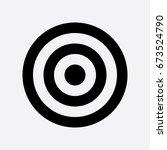 target icon | Shutterstock .eps vector #673524790