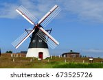 Very Old Windmill On The Mando...