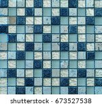 texture of colored glossy... | Shutterstock . vector #673527538