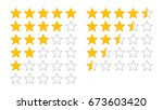 product rating or customer... | Shutterstock .eps vector #673603420