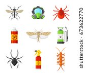 pest control and service.... | Shutterstock .eps vector #673622770