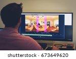 palo alto  ca   june 4  dillon... | Shutterstock . vector #673649620