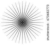 halftone pattern | Shutterstock .eps vector #673682773