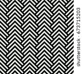 black and white chevron... | Shutterstock .eps vector #673715203