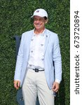 Small photo of NEW YORK - SEPTEMBER 11, 2016: Chairman of the Board and CEO of The Tennis Channel Ken Solomon at the red carpet before US Open 2016 men's final match at USTA Billie Jean King National Tennis Center