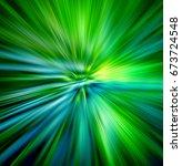 illustration of  hyperspace... | Shutterstock . vector #673724548