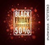 black friday. super sale. cover ... | Shutterstock .eps vector #673735063