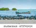 15 10 2016  kalpeni island ... | Shutterstock . vector #673741414