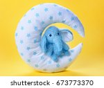 Cute Handmade Elephant Toy Wit...