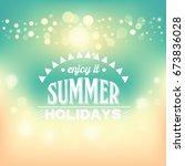 shine background | Shutterstock . vector #673836028