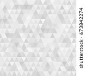 black and white geometric... | Shutterstock .eps vector #673842274