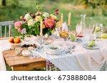 women's day  wedding ... | Shutterstock . vector #673888084