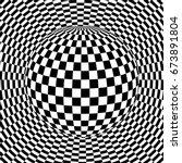 background 3d black and white ... | Shutterstock .eps vector #673891804