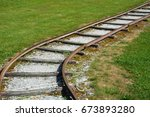 train tracks | Shutterstock . vector #673893280