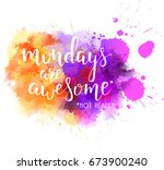 watercolor imitation splash... | Shutterstock .eps vector #673900240