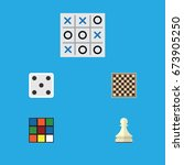 Flat Icon Games Set Of X O ...