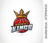 basket kings. sport  basketball ... | Shutterstock .eps vector #673946410