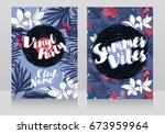 Cards For Summer Vinyl Party ...