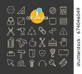 different construction icons...