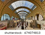 paris  france   may 16  2017 ... | Shutterstock . vector #674074813
