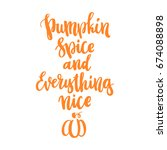 design for the fall festival.... | Shutterstock .eps vector #674088898