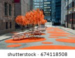 montreal  canada   july 25 ... | Shutterstock . vector #674118508